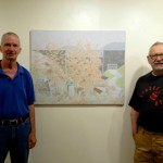 DCHA Exhibition Opening (Painting of East Sidney Dam)