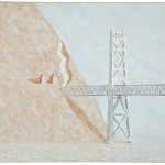 Anthony Nose and Bridge, 1982, oil on canvas, 22 x 28
