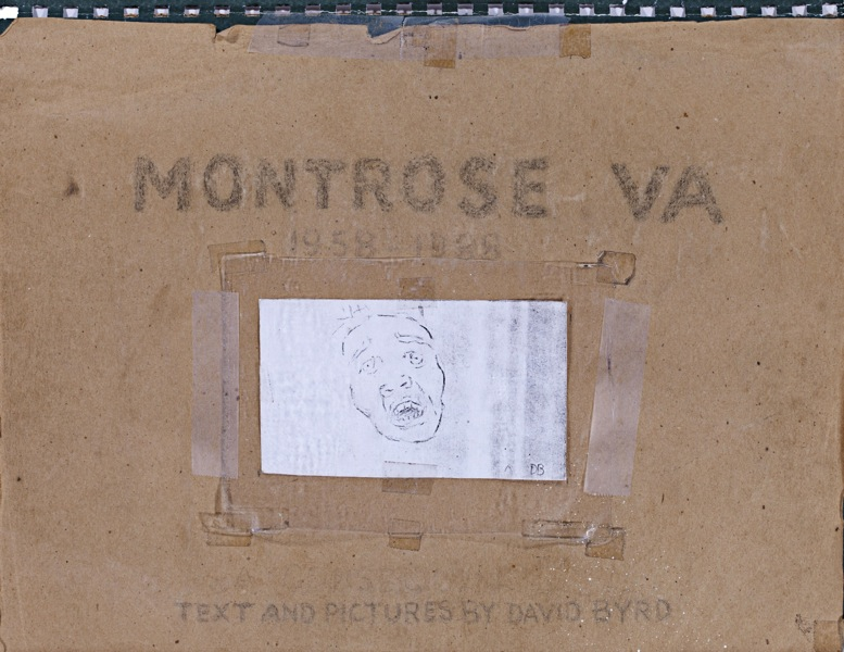 """Montrose VA 1958 - 1988, 11 x 14 58 color pencil drawings, 169 pencil sketches, hand writtne text"