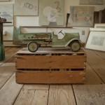 car in studio