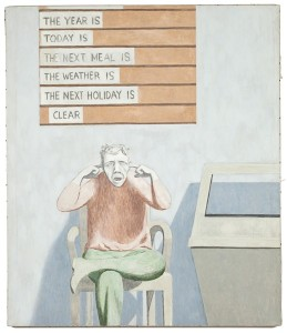 david byrd painting of patient hearing voices