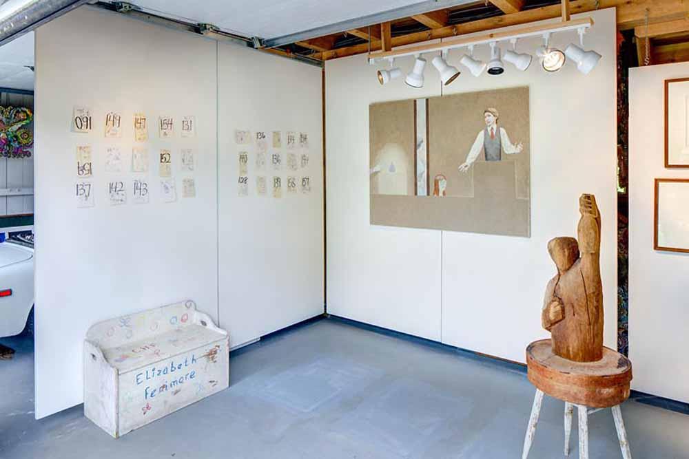 7D Art Garage, Cooperstown, NY 2017