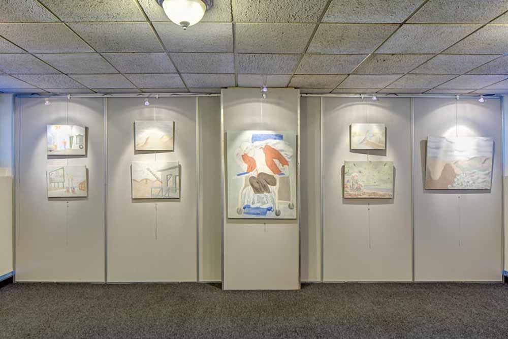 8F Field Gallery, Peekskill, NY 2017